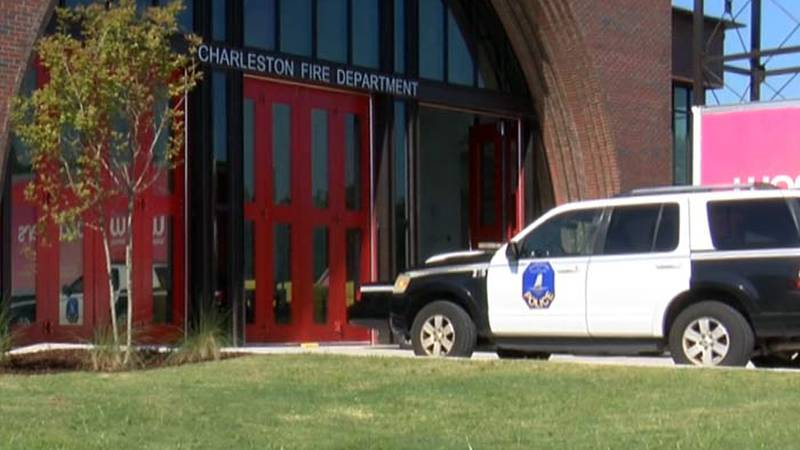 Charleston Police are investigating shots fired at Charleston Fire Station 11 in West Ashley.