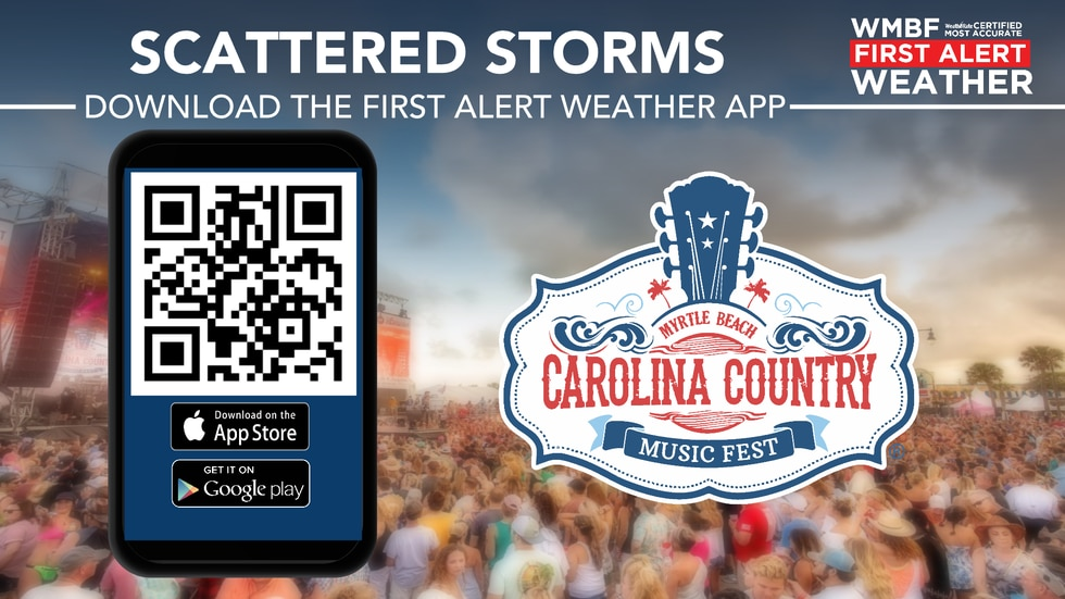 Download our app with rain chances in the forecast.