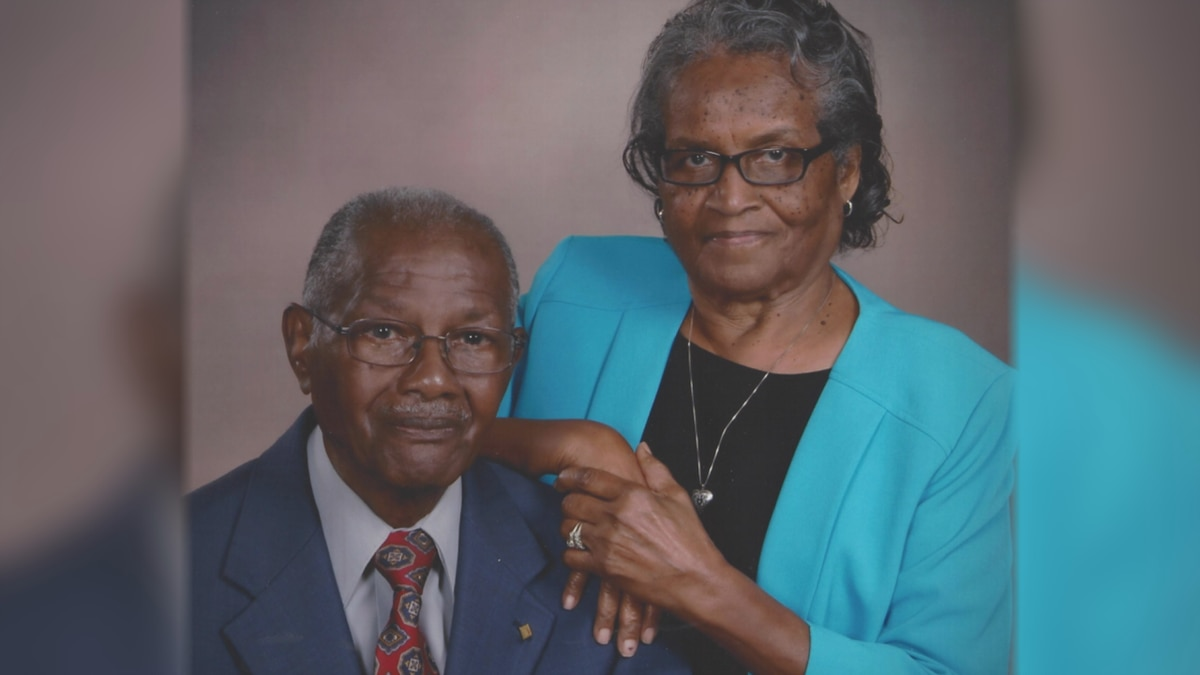 Dennie and Flossie Riley are celebrating 70 years of marriage.