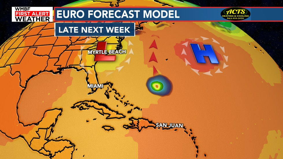 Keep in mind this is far out but some steering mechanics in our forecast look promising to keep...
