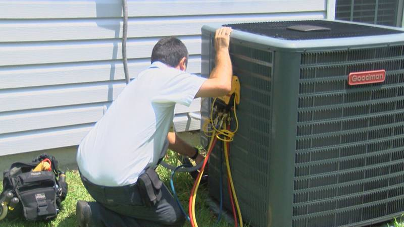 Lots of A/C units need maintenance this summer.