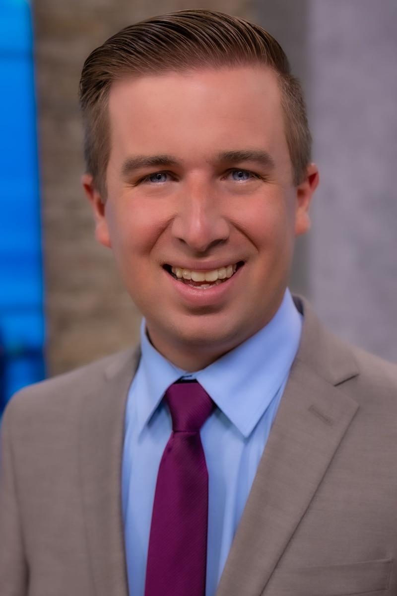 Headshot of Andrew Dockery, Meteorologist