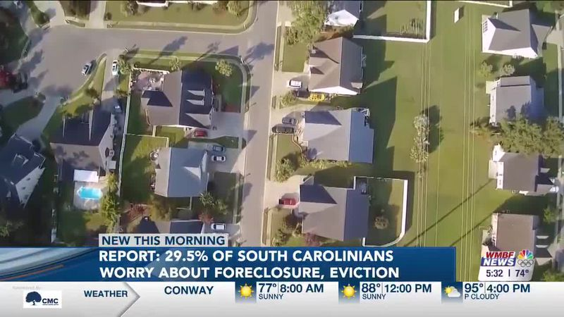 South Carolinians Worrying About Foreclosure and Eviction
