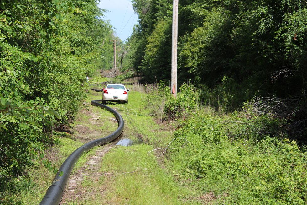 Utility workers found Jaxie Rogers abandoned vehicle near the Lumber River in NC