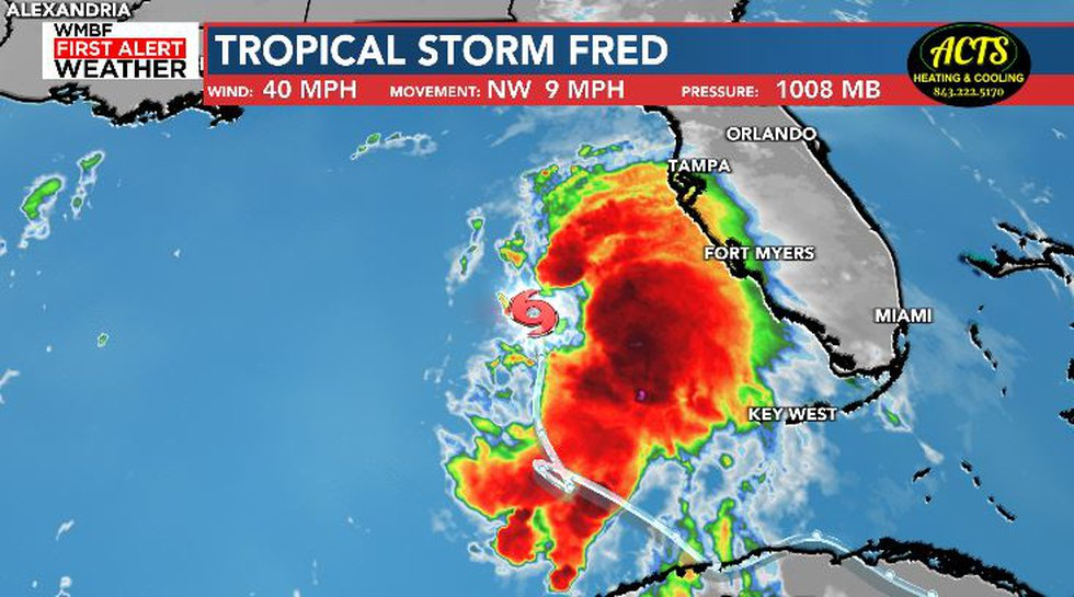 Tropical Storm Fred