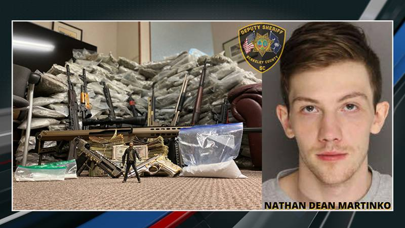 The Berkeley County Sheriff's Office arrested 24-year-old Nathan Dean Martinko. Sheriff Duane...