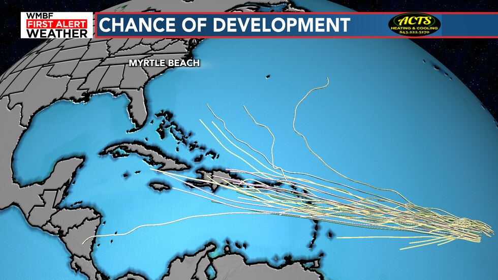 The chances of development are looking better with this next wave and models are all over the...