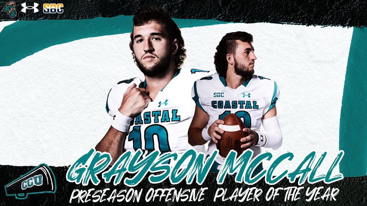McCall was named the Sun Belt's preseason offensive player of the year.
