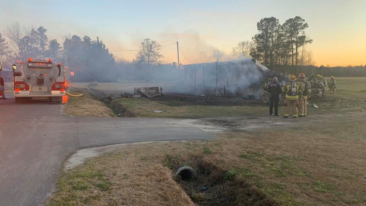 Crews were called to a structure fire Saturday night in the Conway area.