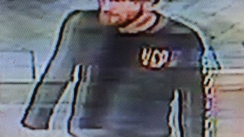 The suspect wanted by GCSO. (Source: GCSO)