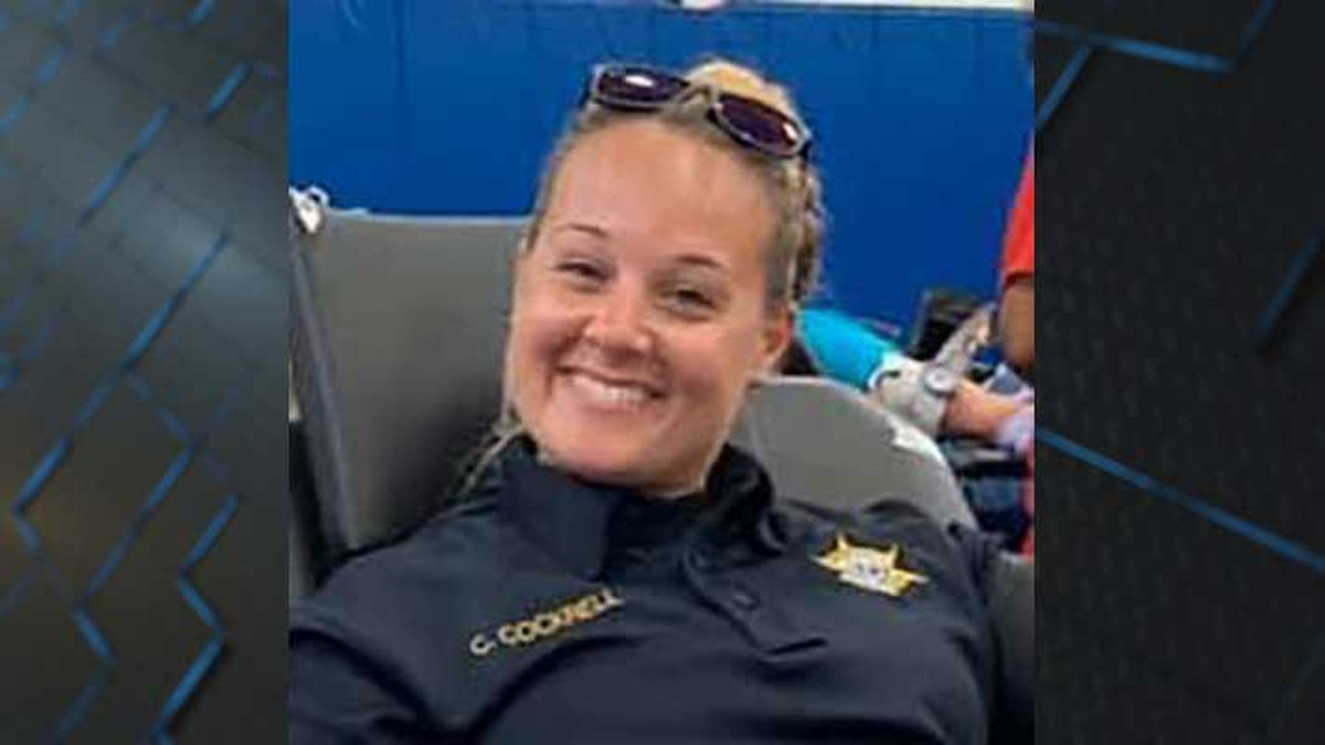 KCSO Deputy Chelsea Cockrell was hit by a distracted driver in a school zone. Officials say she...