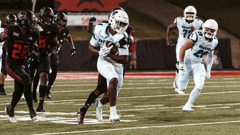 CCU tight end Isaiah Likely.
