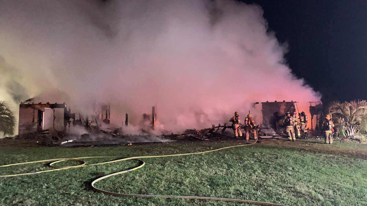 Several people are displaced after an early-morning structure fire in the Conway area.