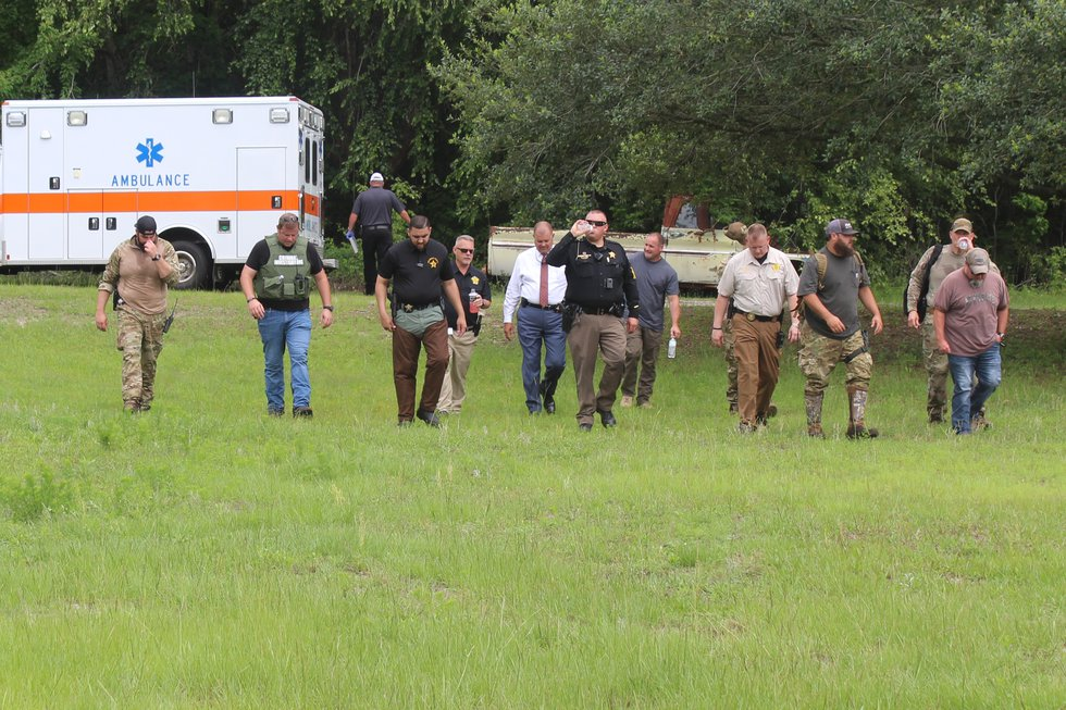 Multiple agencies were called in to help aid in the search for Jaxie Rogers