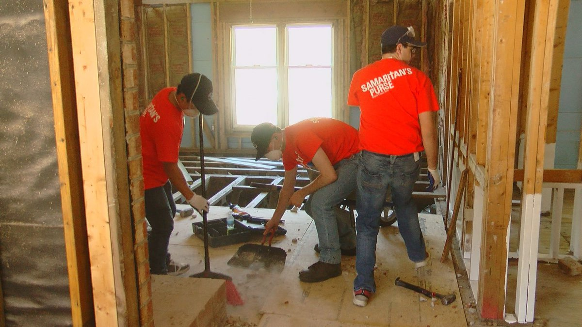 Students at Ripon College in Wisconsin are teaming up with Samaritan's Purse to help flood...
