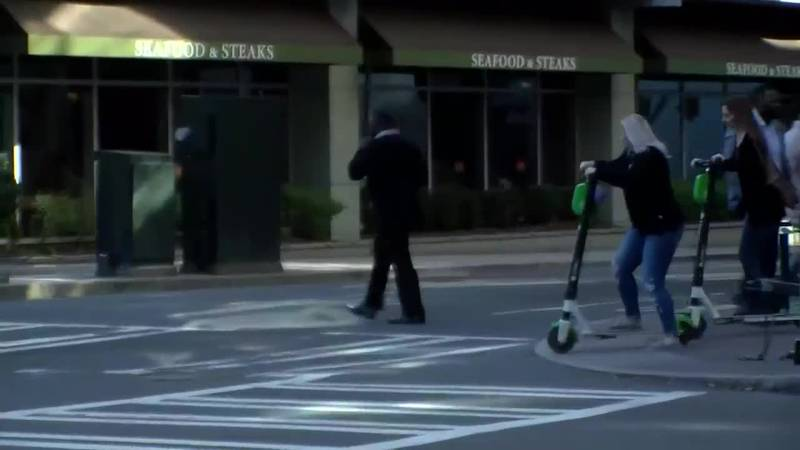 Myrtle Beach leaders are discussing e-scooters, something the city of Charlotte has been using...