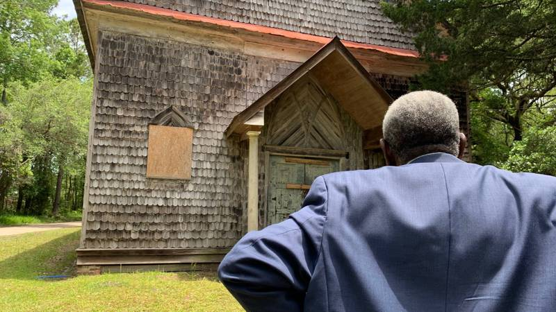 Scenes in the Netflix show, Outer Banks, were filmed at the church, featuring the building.