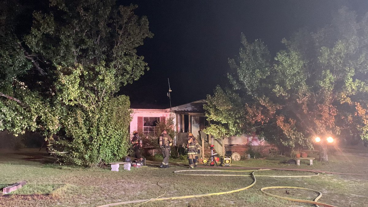 Crews are investigating what sparked a house fire early Thursday morning in Nichols.