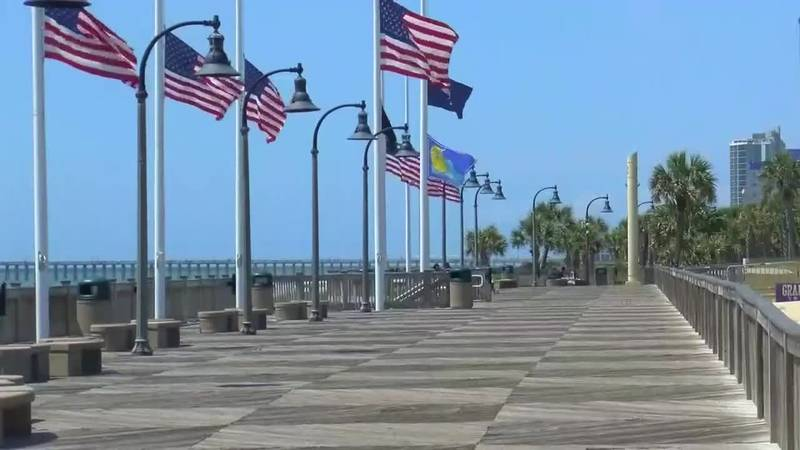 'It's gorgeous here': Myrtle Beach's famous boardwalk celebrates 10th anniversary
