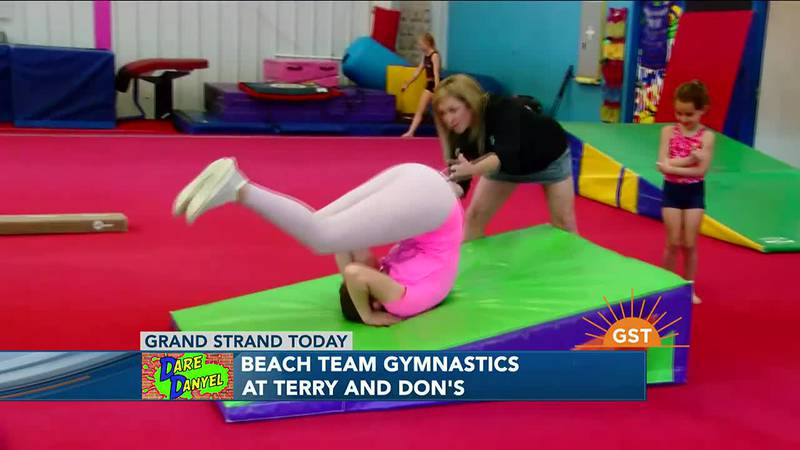 Dare Danyel - Beach Team Gymnastics
