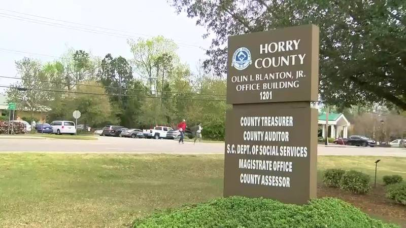 Horry County government complex at 21st Avenue North (Source: WMBF News)