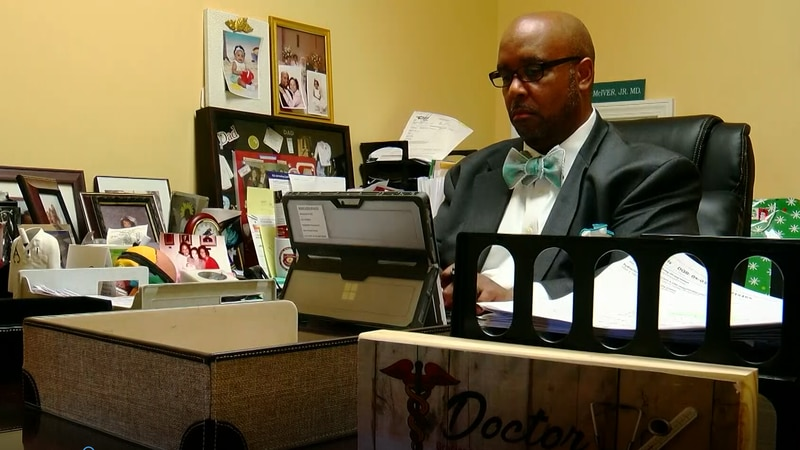 Dr. Winston McIver Jr. says he's experienced racial inequality in the medical industry.
