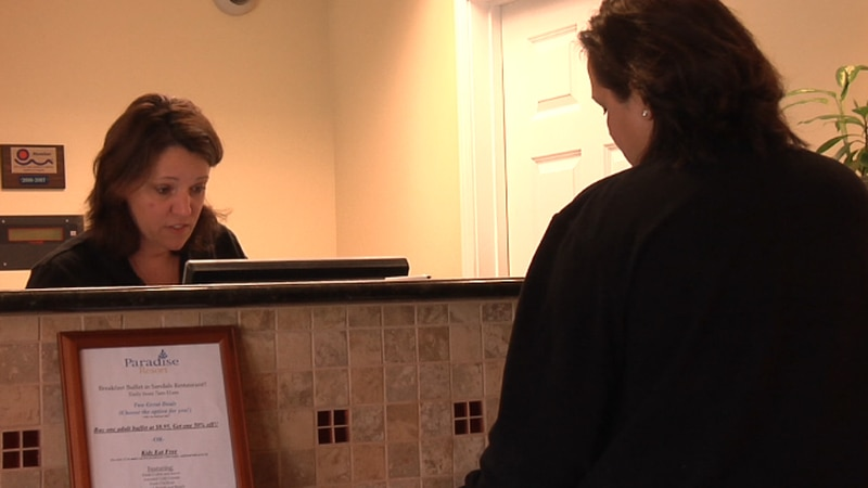 Some Myrtle Beach hotels say they are booked for the Thanksgiving holiday.
