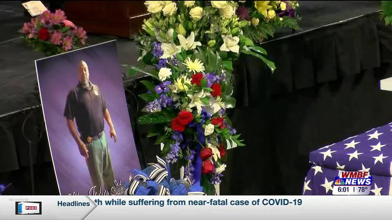 Funeral services held for fallen Lake City Police Lt. John Stewart