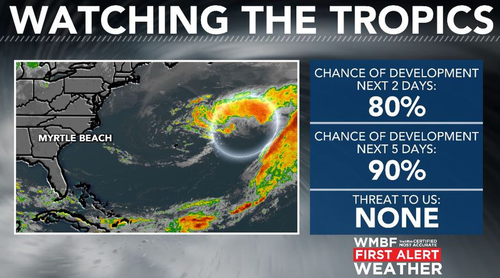 Ana is likely to form on Friday