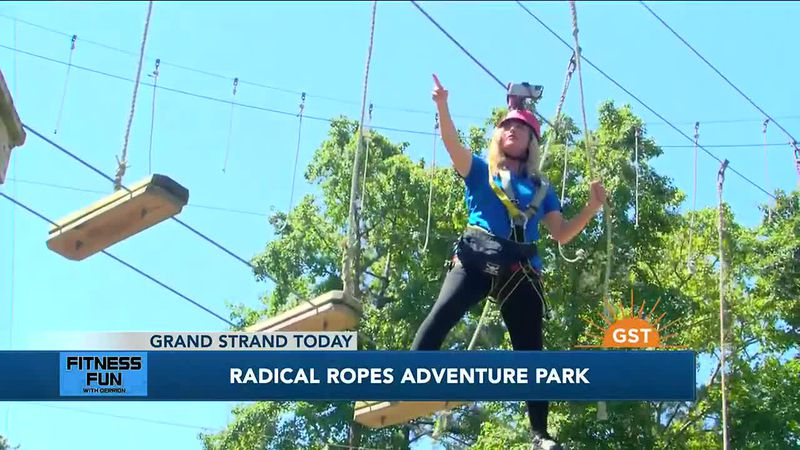 Fitness Fun - Radical Ropes Adventure Course