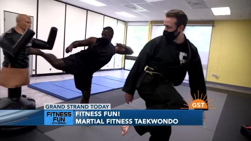 Fitness Fun with Derrion - Martial Fitness Taekwondo