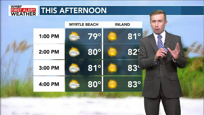 Refreshing & comfortable weather arrives