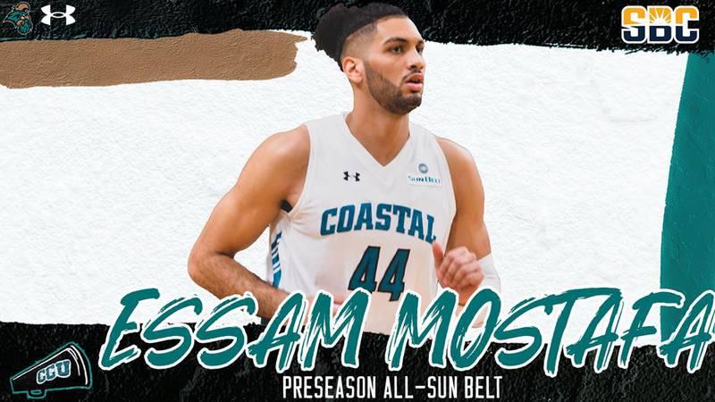CCU's Essam Mostafa was named to the Preseason All-Sun Belt third team.