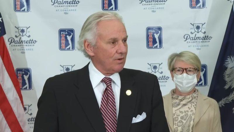 Gov. Henry McMaster announced Friday a third PGA Tour event would come to South Carolina in 2021.