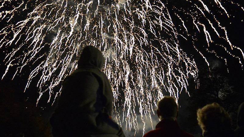 Fourth of July fireworks will be among the holiday festivities taking place along the Grand...
