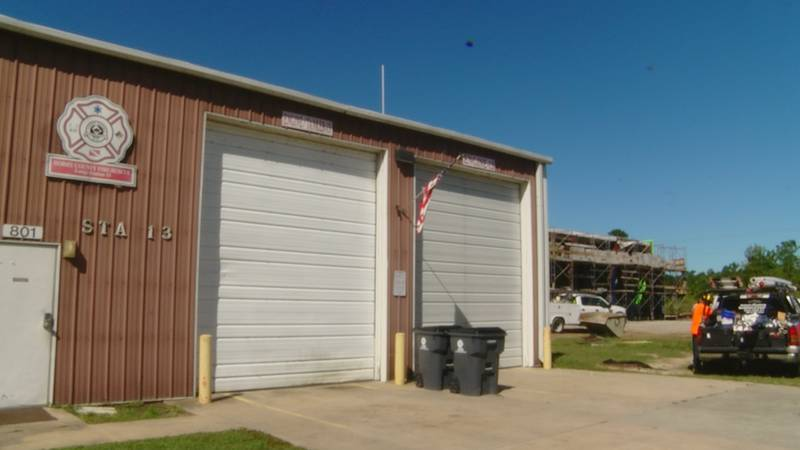 The new station will feature state of the art drive through bays, plus full time fire fighters.