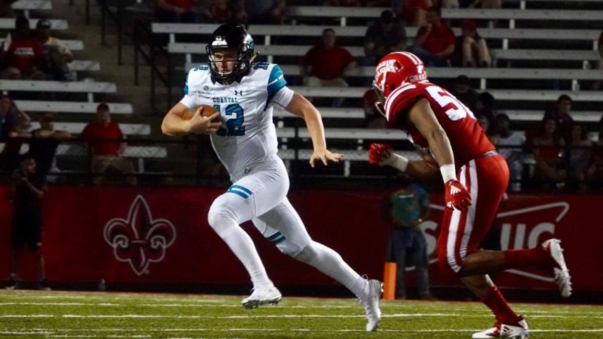 Bryce Carpenter and the Chanticleers rack up nearly 500 yards of total offense. (Courtesy:...