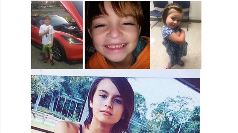 (From Left to Right) Noah Weathers, Cayden Abelseth, Liliabelseth, Alyssa Weathers were...