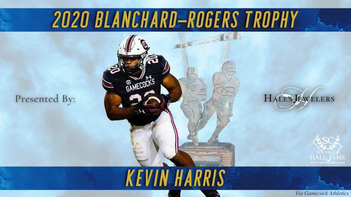 South Carolina running back Kevin Harris.