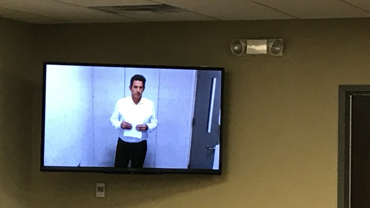 Thomas Ravenel appeared at a bond court hearing Tuesday afternoon. (Source: Live 5)