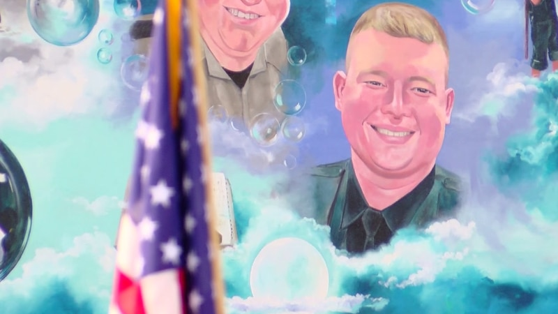 Events were held across Myrtle Beach on Sunday to honor the life of MBPD Pfc. Jacob Hancher,...