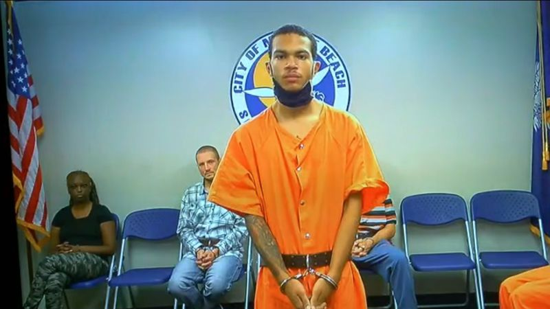 Samuel Frye (pictured) is charged in connection to a deadly Myrtle Beach shooting on Oct. 12.