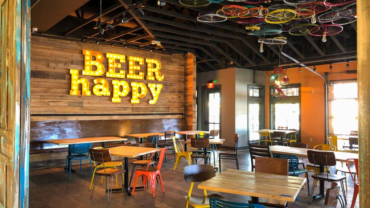 The highly-anticipated brewery's restaurant is set to open Monday, according to the company.