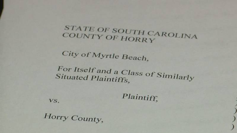 Myrtle Beach sued Horry County over illegally collecting its hospitality fees in March 2019....
