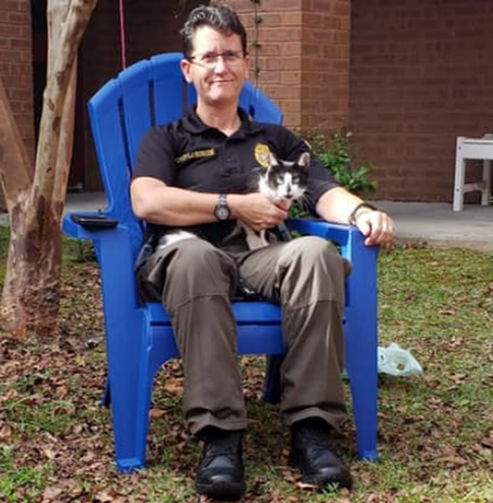 Goose Creek Police Department welcomes cat