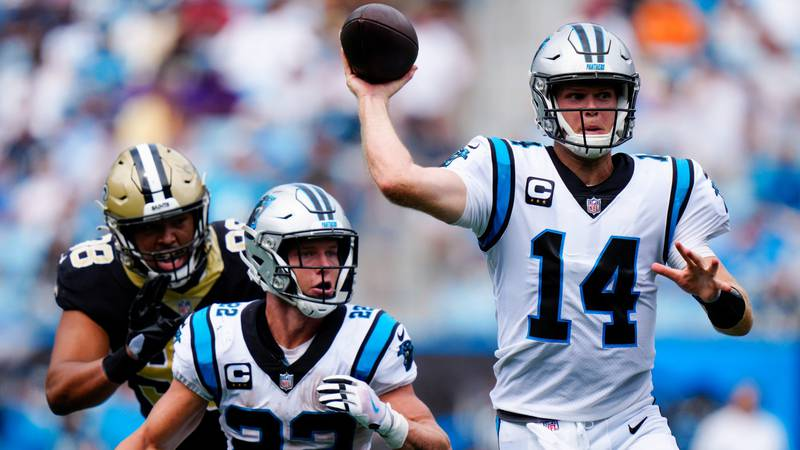 Panthers improve to 2-0 with home victory over New Orleans Saints, 17-7