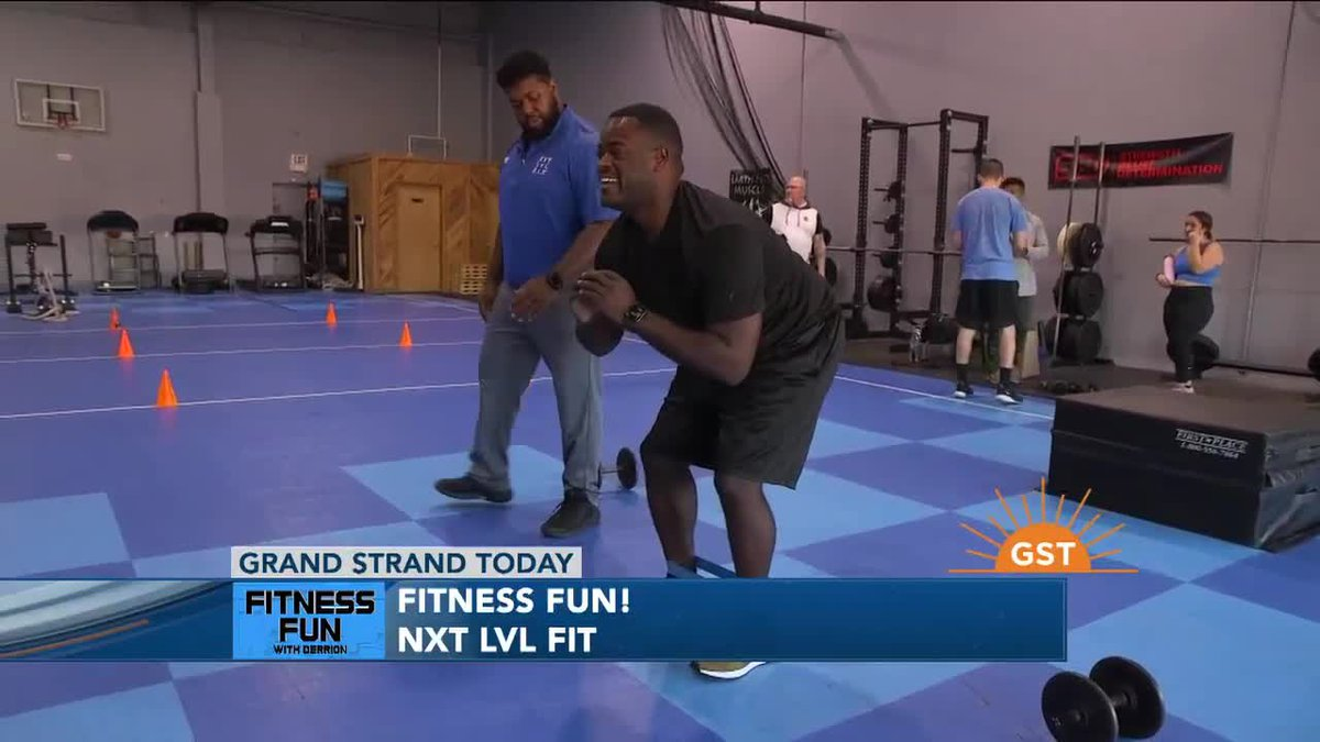 Fitness Fun with Derrion - NXT LVL FIT