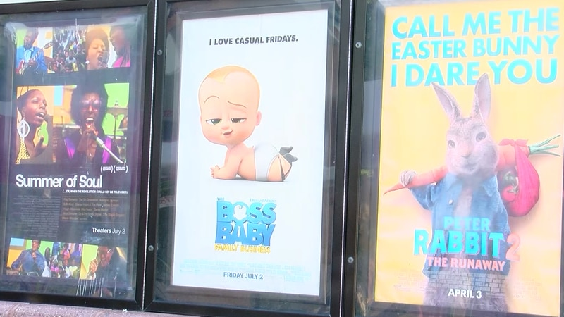A Grand Strand movie theater says they're hoping to see more customers sitting in front of...