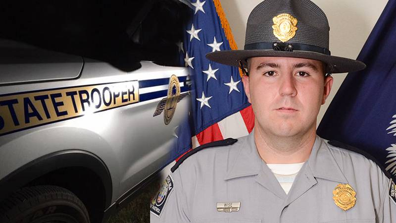 Initial reports indicate that 27-year-old SCHP Trooper Paul Wise was shot off of India Hook...