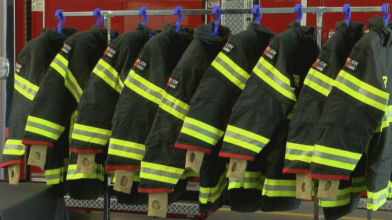 New gear helps protect firefighters from dangerous chemicals. (Source: WMBF News)